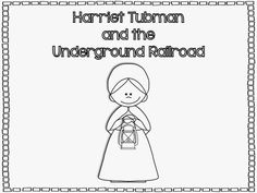 Color Harriet Tubman  Harriet tubman Black history and Black