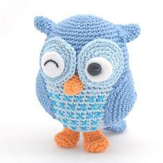 Mesmerizing Crochet an Amigurumi Rabbit Ideas. Lovely Crochet an Amigurumi Rabbit Ideas. Owl Crochet Patterns, Crochet Owls, Crochet Amigurumi, Owl Patterns, Love Crochet, Amigurumi Patterns, Diy Crochet, Crochet Crafts, Yarn Crafts