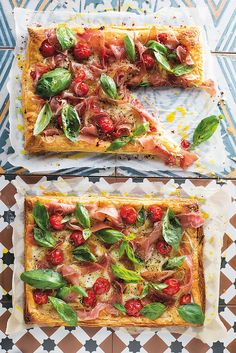 SNACK IDEA: 5 different loaded flaky pastry bases