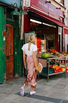 M's: Street Style: How to wear your slip dress this summer