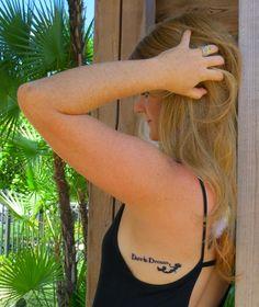 Dare to Dream + Mermaid Tattoo