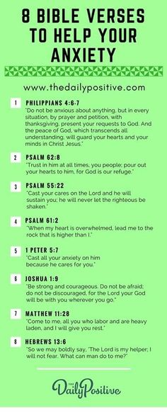 Here are 8 Bible Verses to Help Your Anxiety!