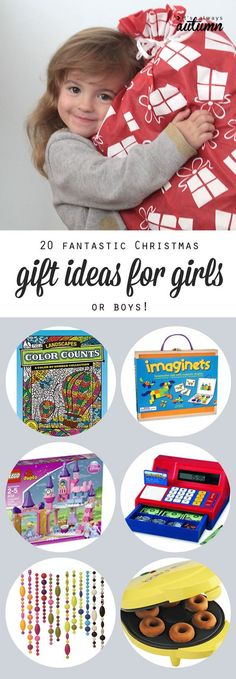 20 best Christmas gift ideas for girls - tried and true presents your kids will love. Actually, these would be great for boys, too!