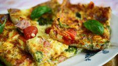 Pannari on ihana väli- tai iltapala. Food Policy, Tasty, Yummy Food, Vegetable Pizza, Quiche, Food And Drink, Snacks, Baking, Vegetables
