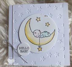 Magical Scrapworld: Hello Baby   Moon Baby