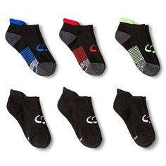 C9 Champion® Boys' Athletic Socks Black