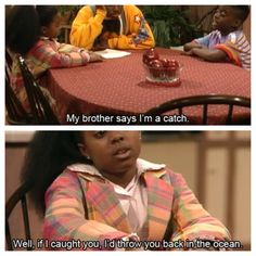 The Cosby show. Love these two!