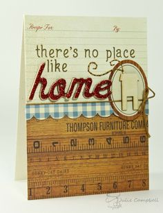 Another delightfully adorable card by the amazing Julie Campbell.