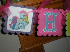 Custom listing for rockannotti My Little Pony Party Decorations