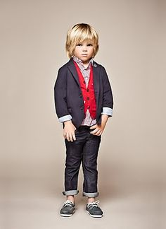 Shop IKKS Kids Clothes from France for Baby, Boys & Girls Launched in 1987 by Gerard Legoff, Offering a Fashionable French Style for the Entire Family. Fashion Kids, Little Boy Fashion, Baby Boy Fashion, Look Fashion, Cute Boy Outfits, Kids Outfits, Cute Boys, Cool Kids, Ikks Kids