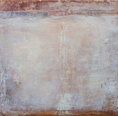 "Muro I, 18 x 18"" encaustic, oils papers and cold wax © 2013 Stephanie Dalton/Dalton Projects"
