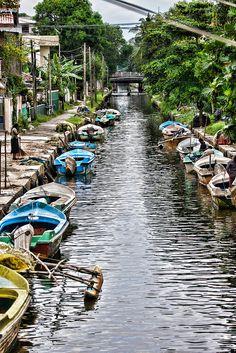 Dutch canal in Negombo | by huskyte77
