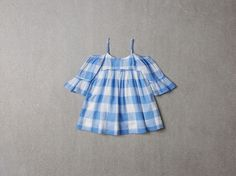 NELLYSTELLA - Sasha Dress / Blue Plaid