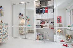 Aprovechar el espacio - Dormitorio infantil y despacho