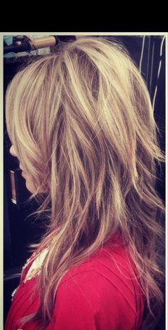 Haircuts For Long Hair, Long Hair Cuts, Medium Hair Styles, Curly Hair Styles, Gorgeous Hair, Beautiful, Shoulder Length Hair, Layered Hair, Great Hair