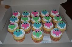 Owls cupcakes
