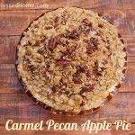 Mouthwatering Carmel Pecan Apple Pie in 9 Easy Steps from happyandblessedhome.com