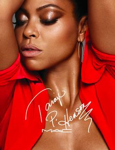 Taraji P. Henson's glow can soon be yours. Today M.A.C announced that the Golden Globe–winning actress will launch a makeup collaboration in September. The #MACTaraji collection will include a bronzer, highlighter, eyeliner, mascara, and makeup brush.