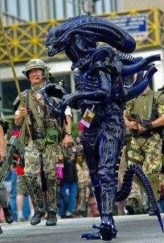 Alien cosplay Alien Cosplay, Steampunk
