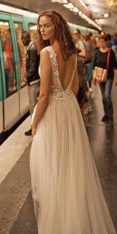 A-Line Wedding Dresses 2020/2021 Collections Overview ❤  a line wedding dresses v back beach summer lizmartinezbridal #weddingforward #wedding #bride