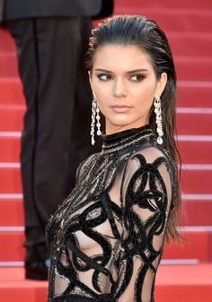 Create Kendall Jenner's Sexy Slicked-Back Hairstyle Look
