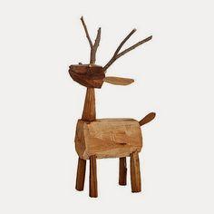 houten rendier zelf maken - Google zoeken