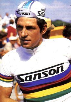 Francesco Moser 1977 Wereldkampioen - Champion du Monde - Campione del Mondo - World Champion