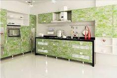 Image result for wallpaper kitchen cabinets