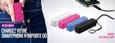 Energy Extra Battery 2200 - De l'énergie à revendre pour vos terminaux mobiles !