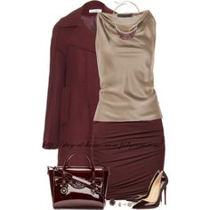 """""""Burgundy"""" by stay-at-home-mom on Polyvore"""