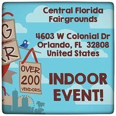 Orlando! Will I see you tomorrow at the Big Bang Bazaar?
