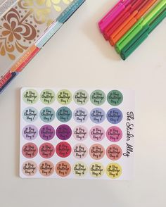30 day challenge stickers now available in our Etsy store! Perfect for tracking any type of 30 day challenge! Couch to 5K stickers also available || #sticker #stickers #stickerfun #stickerlove #stickeraddict #planner #planning #plannergirl #plannerlove #plannernerd #planneraddict #plannercommunity #plannerstickers #plannersupplies #eclp #erincondrenlifeplanner #erincondrenplanner #erincondren #kikkik #filofax #bookstagram #magneticbookmark #magneticbookmarks || by thestickeralley