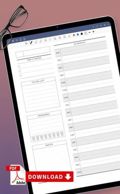 This Daily To Do List Planner template for personal use at office or home. It's great for teams at work or families too so that everyone knows what's expected of them. Download the planners that fit your working style and get them printed in minutes. #daily #to-do #planner #layout #scheduler To Do Lists Printable, Student Planner Printable, Academic Planner, Printables, List Template, Planner Template, Templates, To Do Planner, College Planner