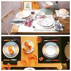 Colori pastello o tonalità vivaci?  Tu di che #primavera sei?  #design #tavola #Guzzini