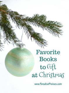 Need some help choosing a gift for someone on your list? Check out of our list of favorite gift books for Christmas.