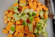 Apple & sweet potato quinoa salad