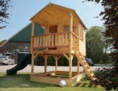 houten speelhuisje - Google zoeken
