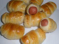 Enrolado de Salsicha, essa e mais Receitas deliciosas da Ana Maria, você só confere aqui no site ReceitasAnaMaria.net