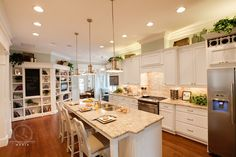 Blue River Cottage Kitchen