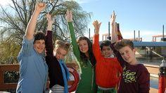 Pfefferkörner, 7. Generation: Anton (Danilo Kamber), Jessi (Martha Fries), Ceyda (Merle de Villiers), Luis (Emilio Sanmarino) und Niklas (Jaden Dreier)