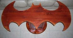 This coffee table. | Community Post: 28 Geeky Items Every Batman Fan Needs