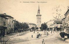 La place Jacquemart en 1929.