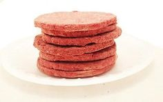 Uncooked Freeze Dried Hamburger Patties - Brand New- 6 Can #10 Can