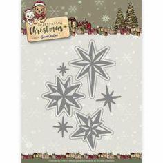 Die Die - Yvonne Creations - Celebrating Christmas- Twinkling Stars