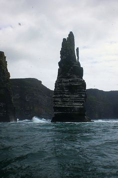 The Cliffs of Moher, Doolin, Ireland.  A windy day and white horses. by Rae & Ste Whitfield, via Flickr