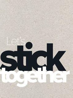 Let's stick together | vtwonen happy page november 2014. Print uit, stijl op jouw manier, maak een foto en deel met #vtwonenbijmijthuis.