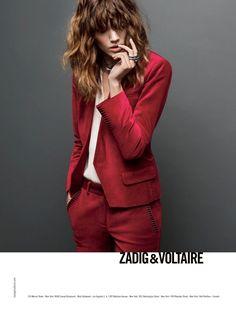 Zadig & Voltaire Fall 2013: Freja Beha Erichsen by Inez & Vinoodh