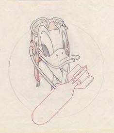 During World War II, the cartoon studio created hundreds of insignia for American troops. Cartoon Styles, Cartoon Art, Cartoon Girls, Eastman Leather, Ww2 Bomb, Disney Go, Civil Air Patrol, Felix The Cats, Sea Crafts