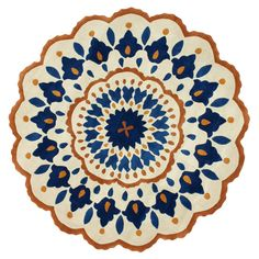 Aster Rug: a place to sit to meditate.  #Anthropologie #PinToWin