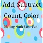 A packet of 25 math worksheets that allows students to have fun while also practicing number sense and math facts.    See preview for complete table of contents and a FREE SAMPLE PAGE.
